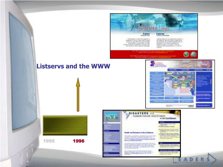 Listservs and the WWW