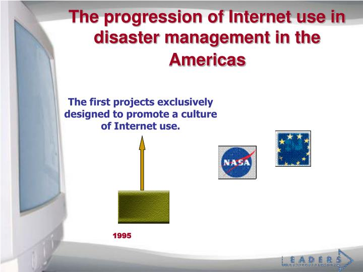 The progression of Internet use in disaster management in the Americas