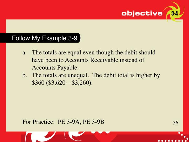 Follow My Example 3-9