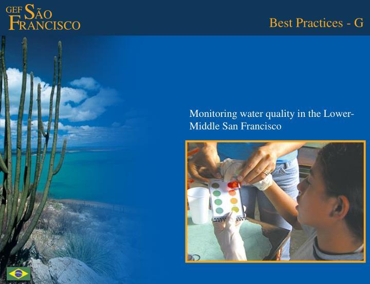 Best Practices - G