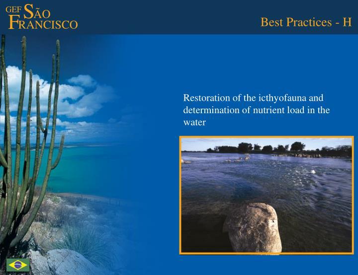 Best Practices - H