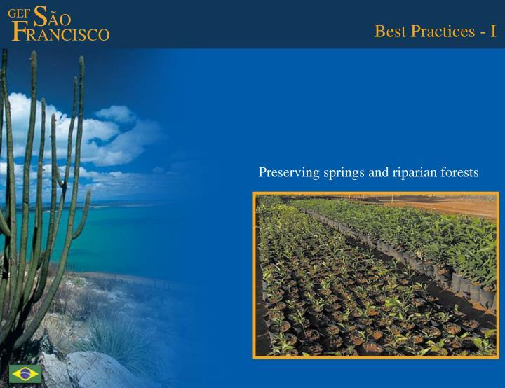 Best Practices - I