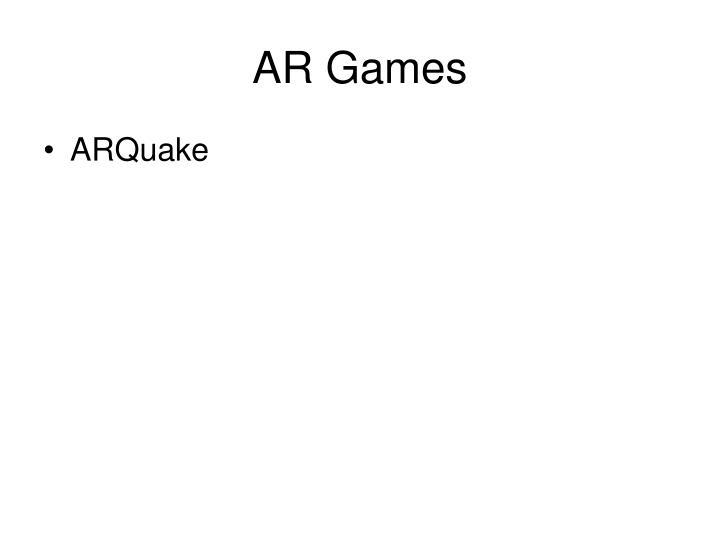 AR Games