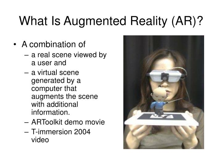 What is augmented reality ar