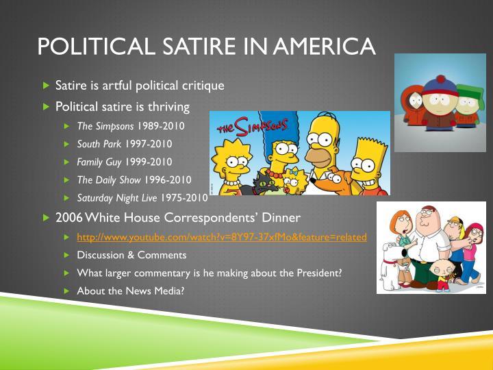 Political Satire in America