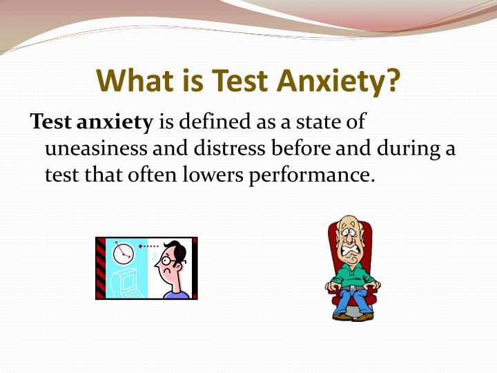 What is test anxiety