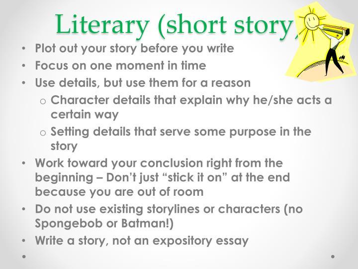 Literary (short story)