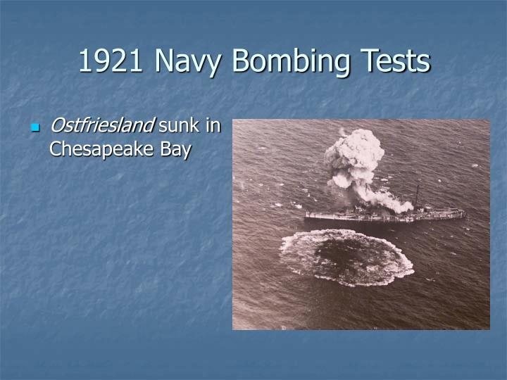1921 Navy Bombing Tests