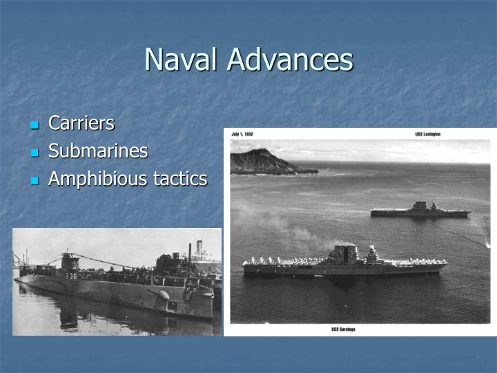 Naval Advances