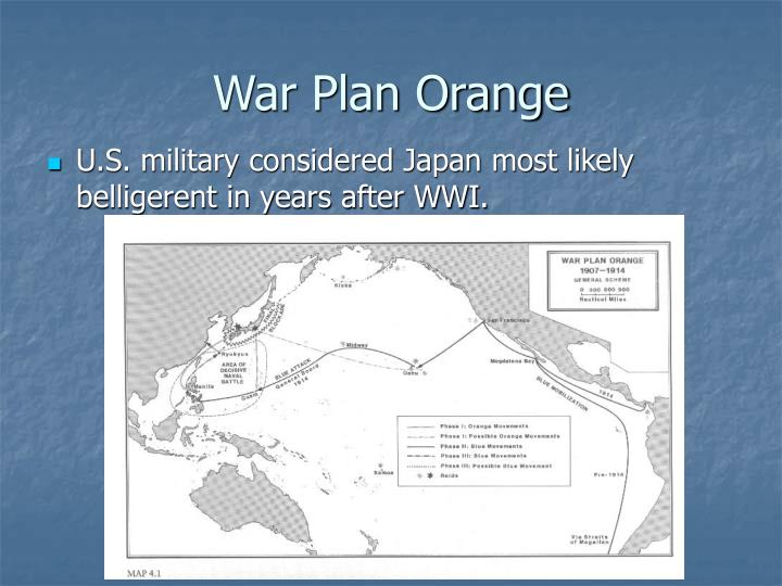 War Plan Orange