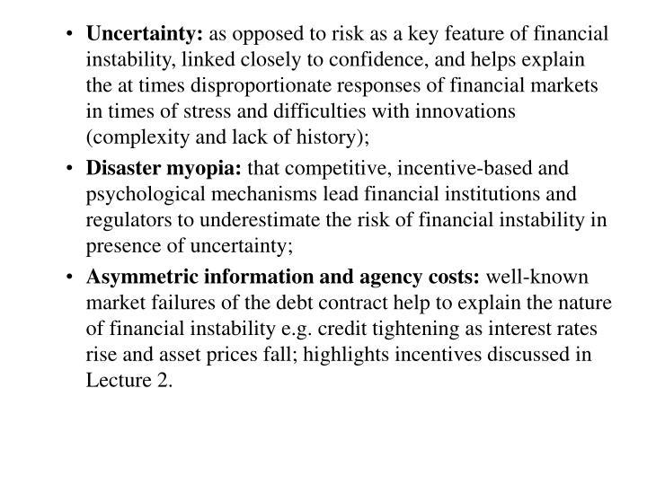 Uncertainty: