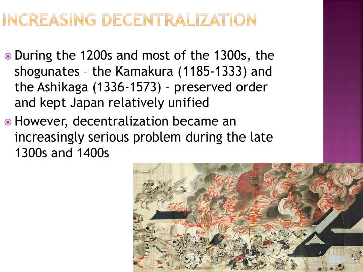 Increasing Decentralization
