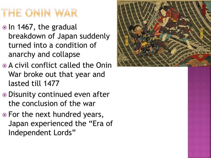 The Onin War