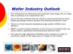 wafer industry outlook