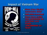 impact of vietnam war