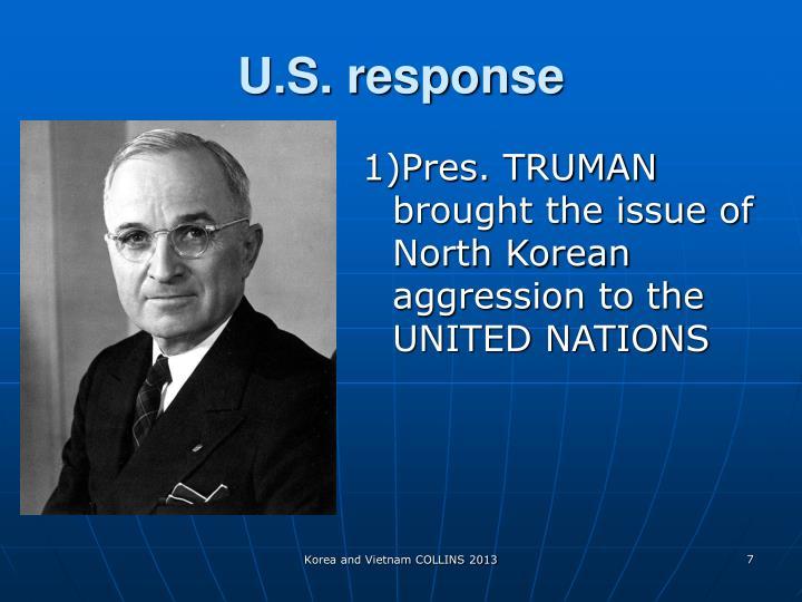U.S. response