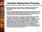 grantee deployment process