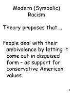 modern symbolic racism1
