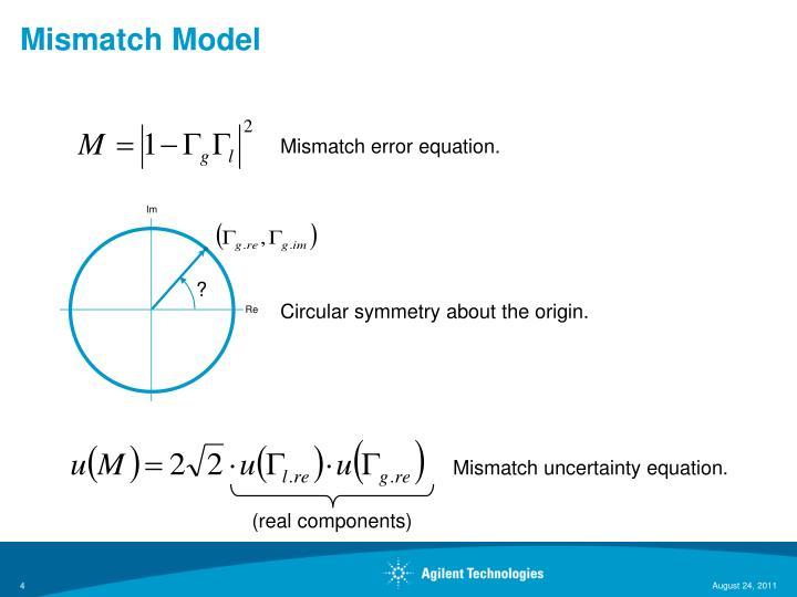 Mismatch Model