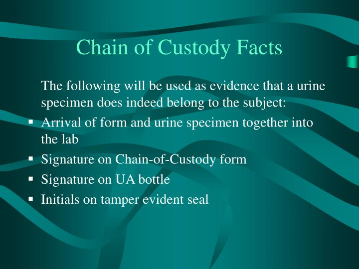 the process of chain of custody using write blocks as mechanisms to preserve the original copy of th Chain of custody---methods of interim of the agreement or to preserve electronic information must use va's poa&m process to document planned.