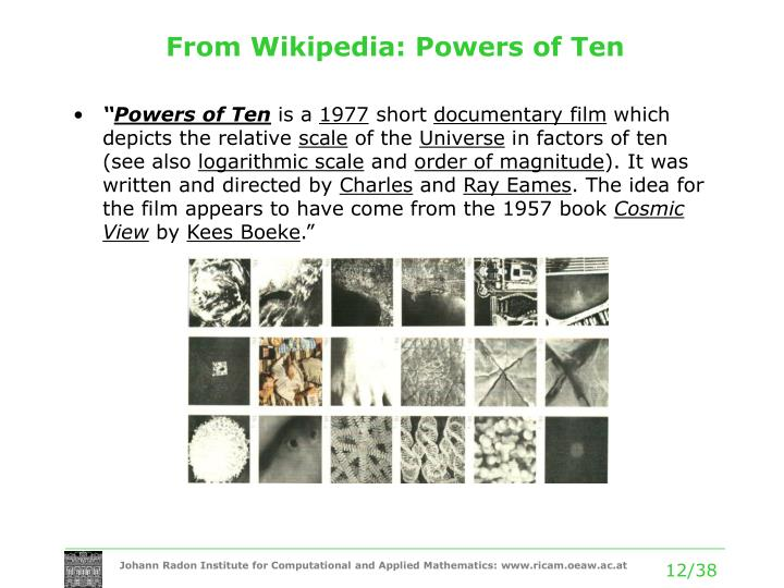 From Wikipedia: Powers of Ten