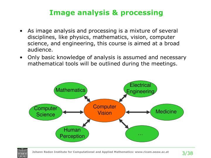 Image analysis & processing