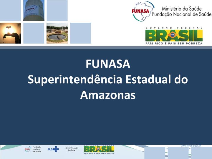 Funasa superintend ncia estadual do amazonas