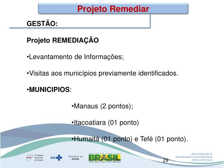 Projeto Remediar