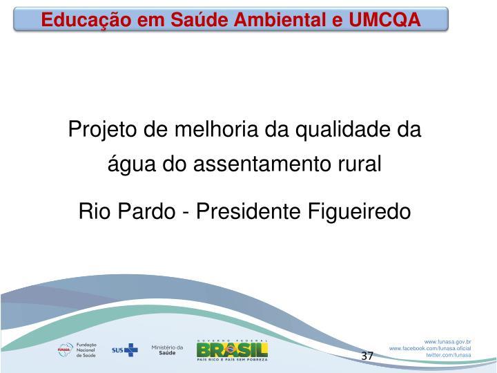 Educação em Saúde Ambiental e