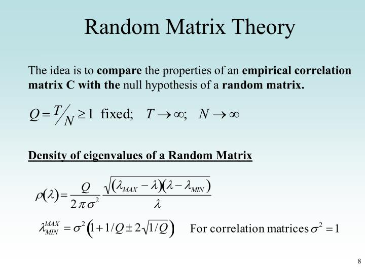 Matrix hypothesis