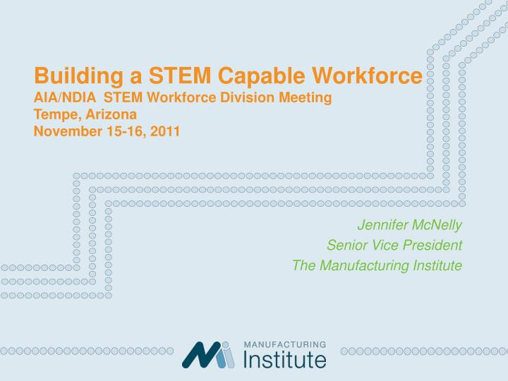 Building a STEM Capable Workforce