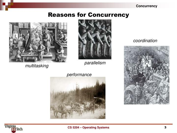 Reasons for concurrency