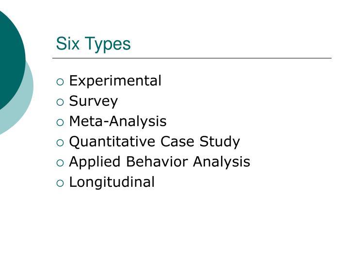 Six Types
