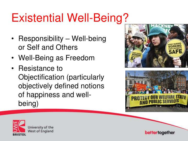 Existential Well-Being?