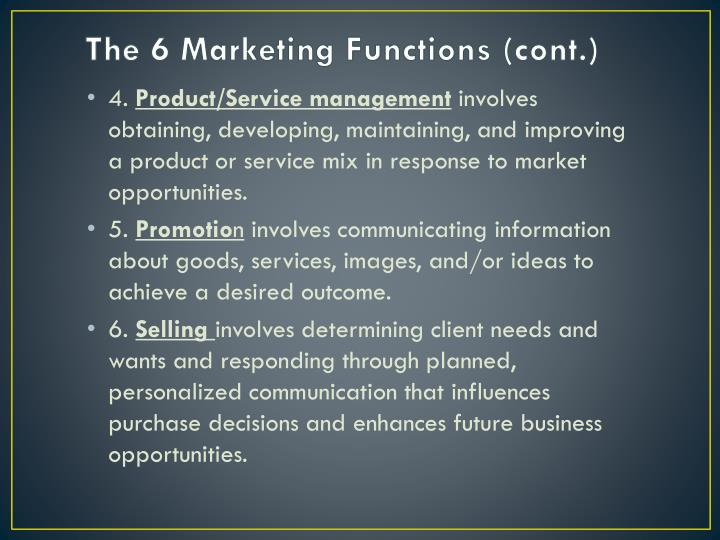 The 6 Marketing