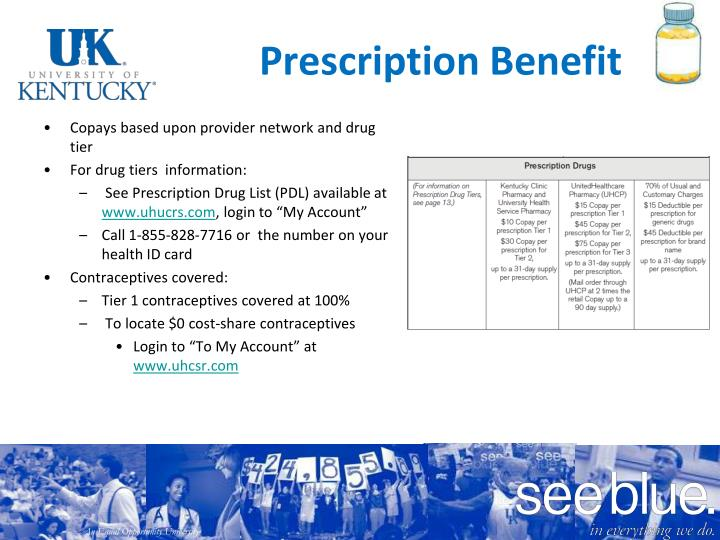 Prescription Benefit