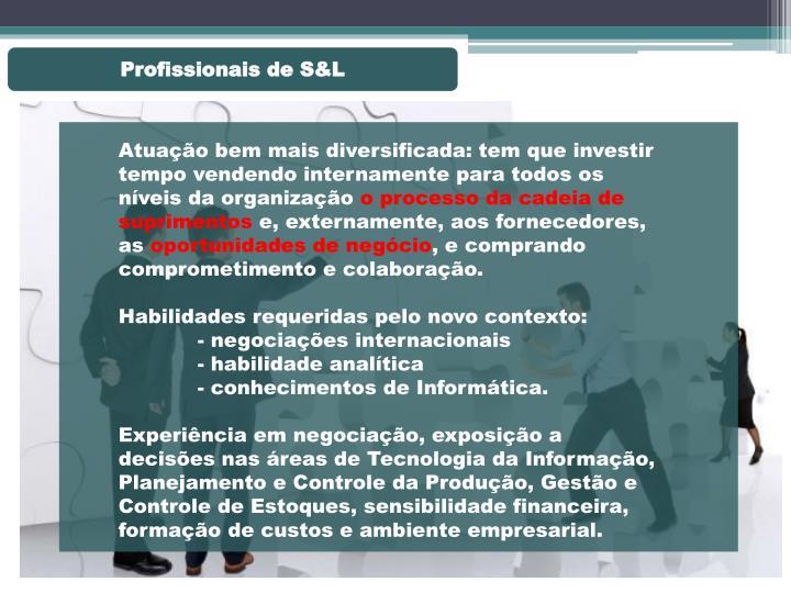 Profissionais de S&L