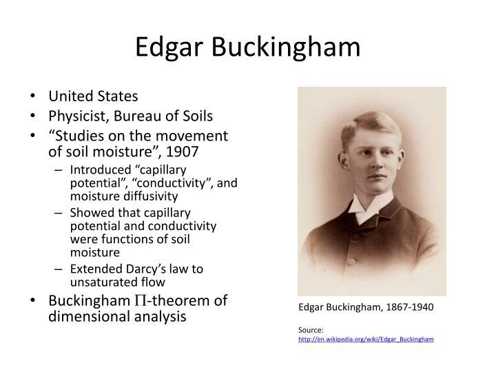 Edgar Buckingham