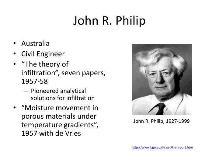 John R. Philip