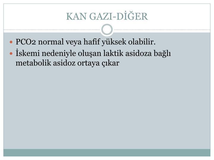 KAN GAZI-DİĞER
