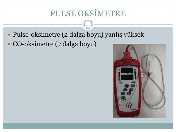 PULSE OKSİMETRE