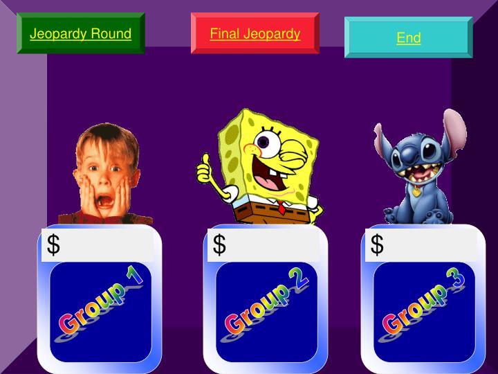 Jeopardy Round