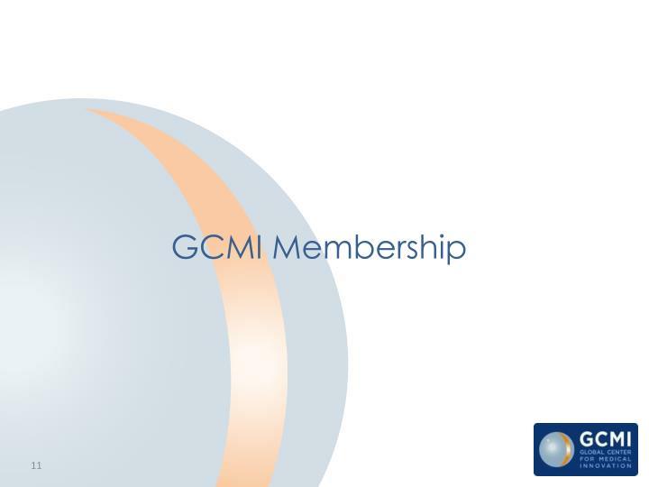GCMI Membership