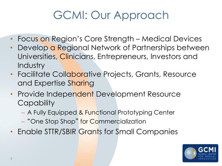 GCMI: Our Approach
