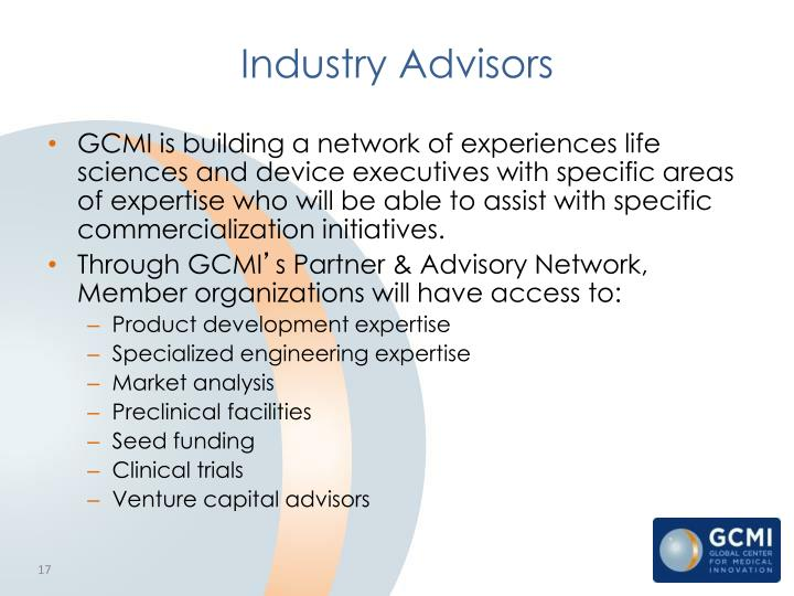Industry Advisors