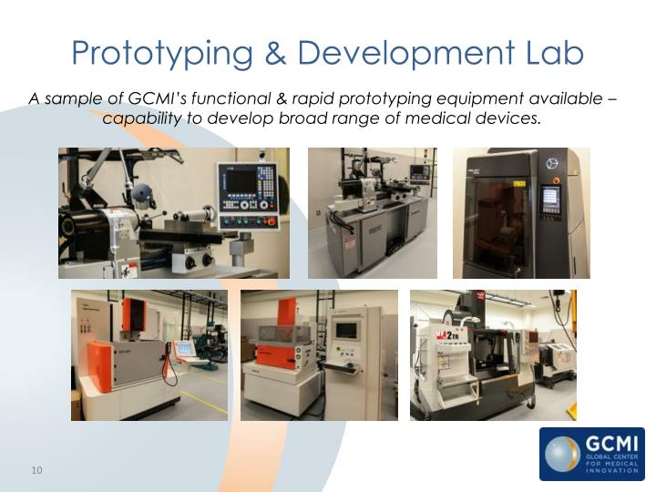 Prototyping & Development Lab