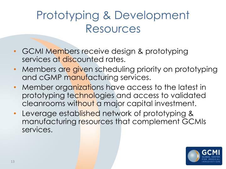 Prototyping & Development Resources