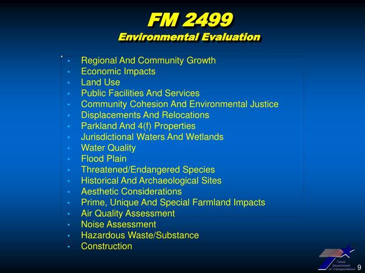 FM 2499