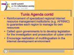 tunis agenda contd1