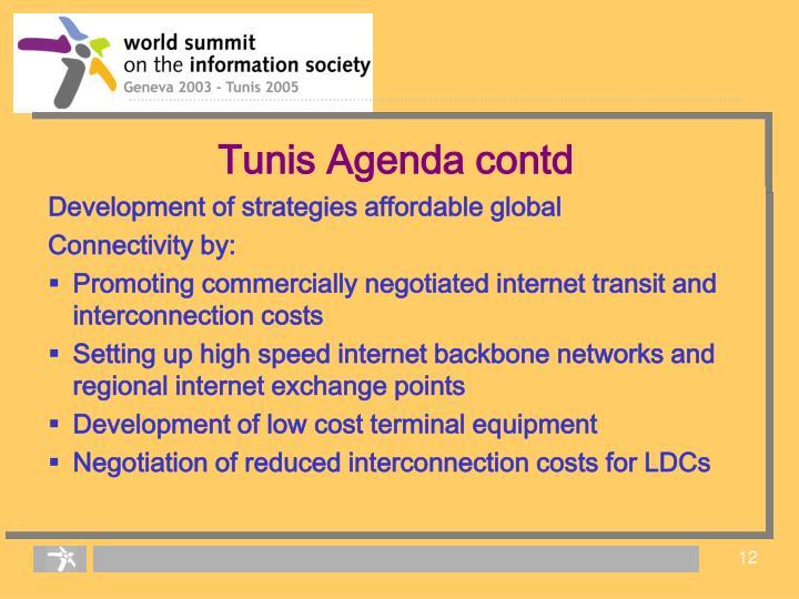 Tunis Agenda contd